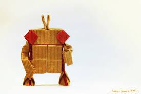 origami halloween origami robot jpg