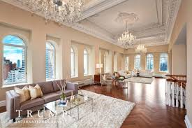 trump living room trump park avenue penthouse returns with an even lower asking