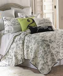 Ideas For Toile Quilt Design Black Toile Quilt Set Zulily Country Favorites And