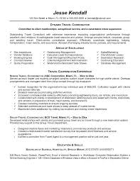 Event Manager Resume Examples by Travel Executive Cover Letter