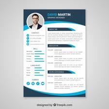 modern curriculum vitae template cv template vectors photos and psd files free download