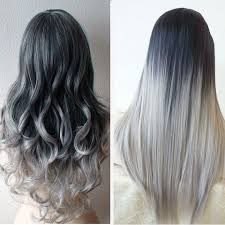 putting silver on brown hair best 25 grey hair extensions ideas on pinterest black to grey
