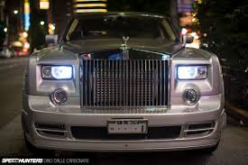 roll royce rod phantom magic bye bye v12 hello 2jz speedhunters