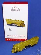 hallmark lionel ornaments ebay