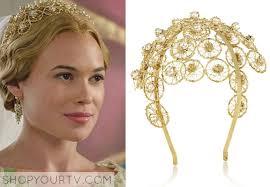 gold headpiece season 2 episode 5 greer s gold wedding headpiece shop