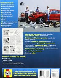 haynes ford mustang automotive repair manual 1994 thru 2000 all