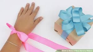 ribbon bows 4 ways to make beautiful ribbon bows wikihow