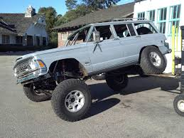 jeep grand wagoneer custom jeep grand wagoneer linked coilovers vortec v8 swap youtube
