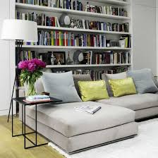 Bookshelf Behind Couch Book Shelves As Part Of Design Living Room Library For The