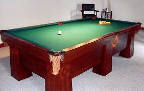 Antique Brunswick Pool Tables by Custom