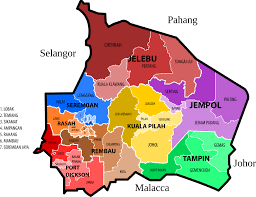 Blank Electoral Map by Maps Of Malaysia Clipart