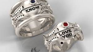 r2d2 wedding ring the is strong with wars engagement rings