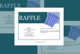 raffle flyer template u2013 24 free psd eps ai indesign format