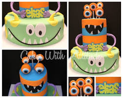 64 best monster cakes images on pinterest monster cakes monster