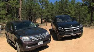 lexus gx 460 diesel 2013 mercedes gl350 vs lexus gx460 road mountain mashup