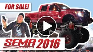 monster jam trucks for sale the biggest truck at sema 2016 is for sale 4wheel online blog