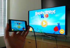 connect android to tv how to play from phone to tv android iphone tutorial