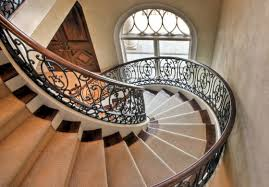 Metal Stair Banister Bauer Custom Welding Metal Railings Iron Staircases Powder