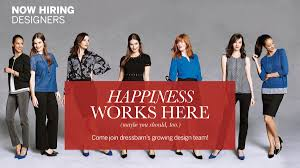 dressbarn is hiring designers of all levels in new york ny
