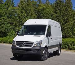 mercedes commercial 2016 mercedes benz sprinter 3500 cargo van road test review the