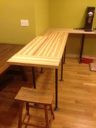 How To Install Butcher Block Countertops by Hickory Butcher Block Countertops Country Mouldings