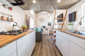 the bunkhouse a beautiful custom tiny house from uncharted tiny