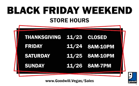 goodwill of southern nevada black friday store hours pos