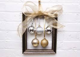 diy wreath alternative ornament frames
