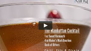 vermouth color mixology the manhattan drink recipe makers mark bourbon on vimeo