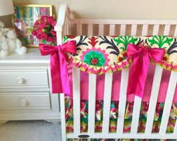 Waverly Crib Bedding Navy Floral Crib Bedding Baby Bedding Coral And Navy