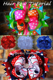 how to make girl bows boutique hairbow tutorial how to make boutique hair bows