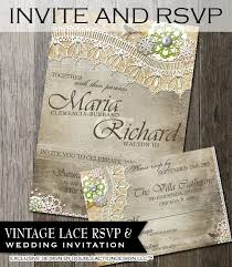 wedding invitations quincy il rustic wedding invitation rsvp diy wedding invite rsvp with