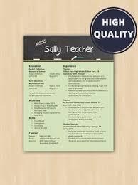 Resume Format For Teachers Teacher Resume Template For Ms Word Educator Resume Writing