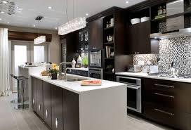 Kitchen Ideas Gallery Modern Kitchen Design With Espresso Cabinets Modern Kitchen