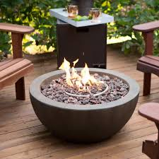 Firepit Images Ember Mesa 28 In Gas Pit Bowl With Free Cover Hayneedle