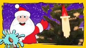 how to make a santa dangler diy christmas crafts easy