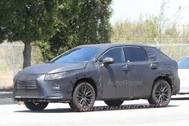 lexus model meaning lexus files for rx350l trademark hinting at seven seater model