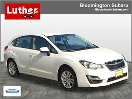 2016 subaru impreza hatchback silver featured vehicles for sale at bloomington subaru