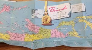 Map Of Bermuda Richard Norwood Surveyor Of Bermuda In The 17th Century