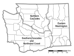Eastern Washington Map by Gray Wolf Conservation U0026 Management Strategies In Draft Plan