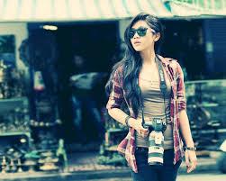 wallpaper girl style download wallpaper 1280x1024 girl camera style shirt street