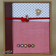 fabric photo album 2017 2013 children day gift albums plaid fabric with a thin