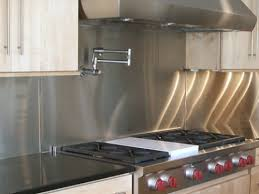 stainless steel backsplashes for kitchens useful kitchen ideas with stainless steel backsplash smith design