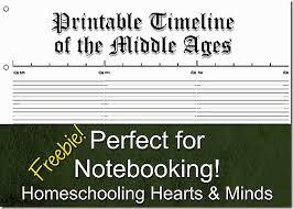 homeschooling hearts u0026 minds free printable notebook timeline for