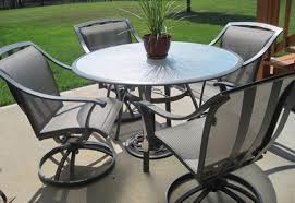 Patio Marvelous Patio Furniture Covers - table glamorous round wood patio table engaging round wood