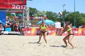 abbott sisters hitting it off in beach volleyball the manitoban