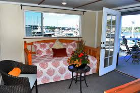seahawk houseboat perfect for fans of the sea or the hawks