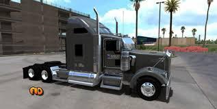 trailer kenworth 2016 kenworth w900 knight refrigerated skin mod american truck
