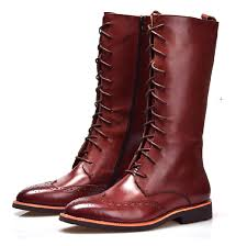 popular mens knee high boots buy cheap mens knee high boots lots