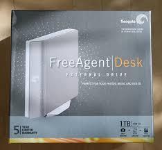Seagate Freeagent Desk Driver External Drives Seagate 1tb Freeagent Desk External Hard Drive